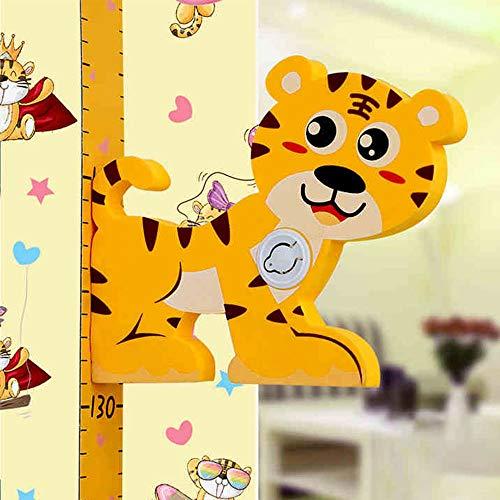 IWILCS 3D Messlatte Kinder Baby Messlatte Höhe Diagramm Größenmesser Kinder und Baby für Baby Kinderzimmer Schlafzimmer Wanddekoration