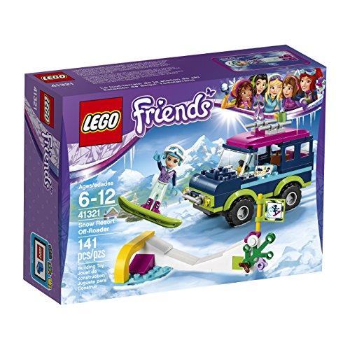 LEGO Amici Snow Resort Fuoristrada 41321 Kit di Costruzione (141 Pezzi)