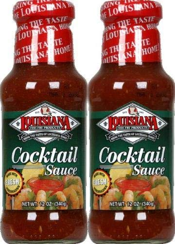 Louisiana Cocktail Sauce with Horseradish 12.0 Oz. (Pack of 3) Pack of 2