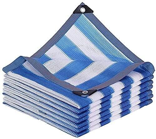 Toldos Impermeables Exterior Neto de sombra, material de HDPE para interiores y al aire libre 85% Tarifa de sombreado Shade vela, cifrado grueso de protección solar, neta de aislamiento térmico, villa