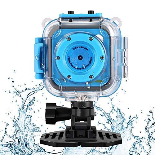 Gakov Camera di bambini a prova d'acqua Underwater, WiFi 1280P 2MP fino a 20m, telecamera a prova d'acqua, fotocamera per bambini acquatici
