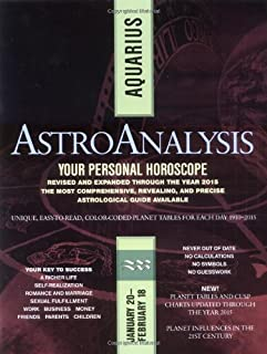 AstroAnalysis: Aquarius (AstroAnalysis Horoscopes)