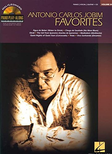 Antonio Carlos Jobim Favorites Piano Play-Along + CD
