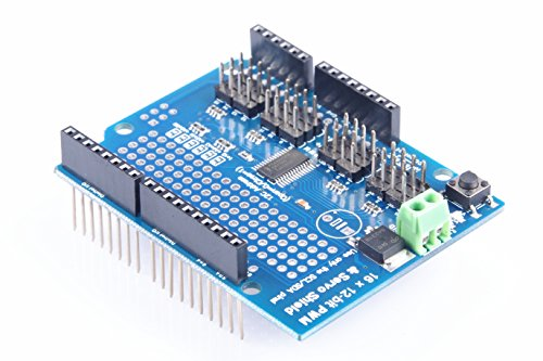 LM YN PWM Servo Driver Module 16 Channel 12-bit PWM Servo Drive Shield Board for Arduino EK1690