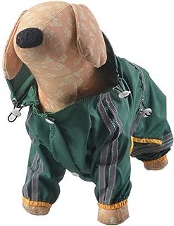 Dogs Waterproof Raincoat Dog Coat Jacket Reflective Dog Raincoat for Small Medium Large Dogs
