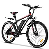 VIVI Electric Bike 26' Electric Mountain Bike 350W Adult Electric Bicycle/Electric Commuter Bike, Ebike with Removable 10.4Ah Battery, Professional Shimano 21 Speed