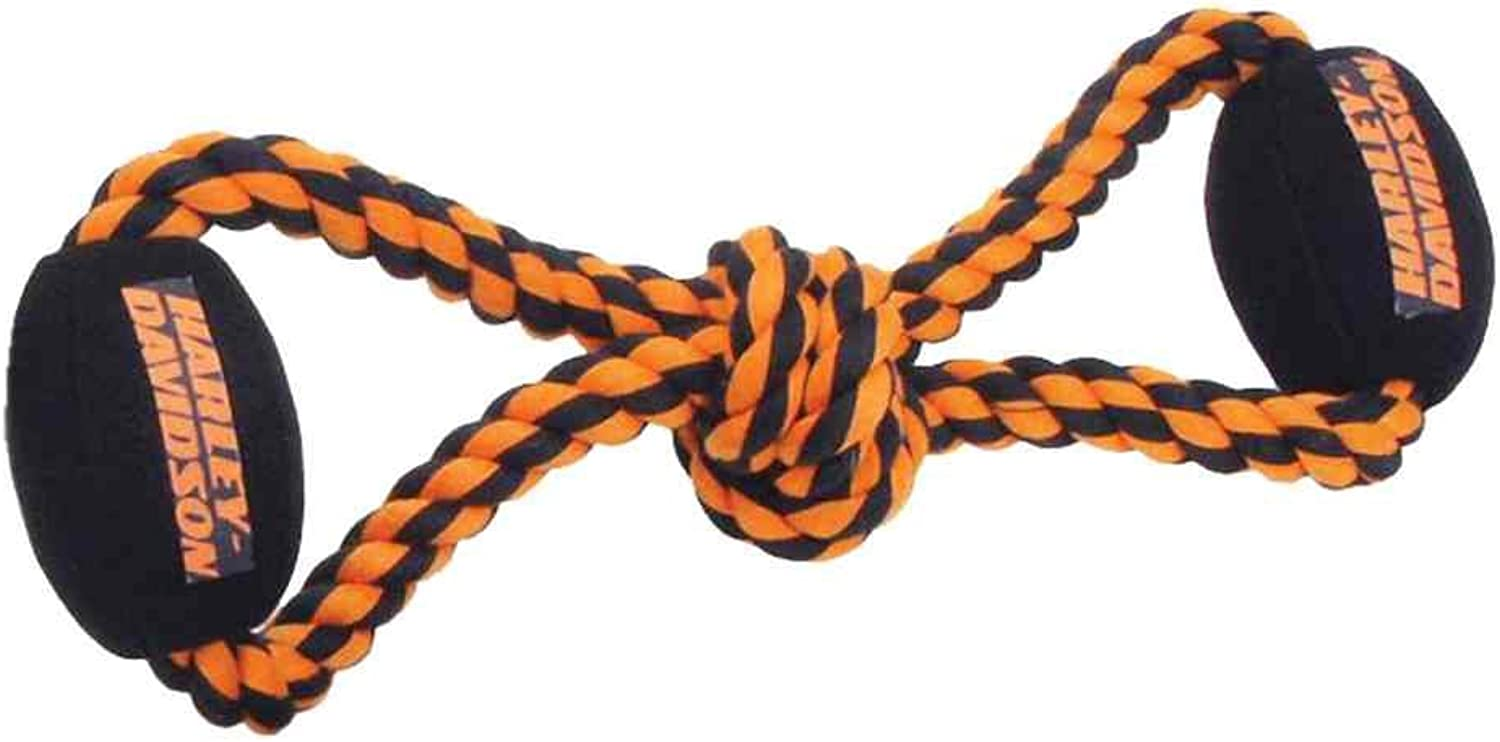 Coastal Pet Products Harley Rope ToyBall Tug