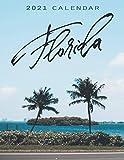 Florida: 2021 Wall Calendar | 12 Months - 8.5 x 11 inch