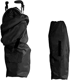 eamqrkt Portable Car Seat Travel Storage Bag Black Gate Check Pouch