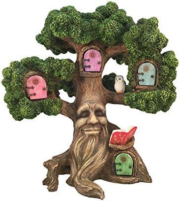 GlitZGlam Fairy Garden Enchanted Joshua s Miniature Tree 10 5 Inch Tall for The Garden Fairies product image