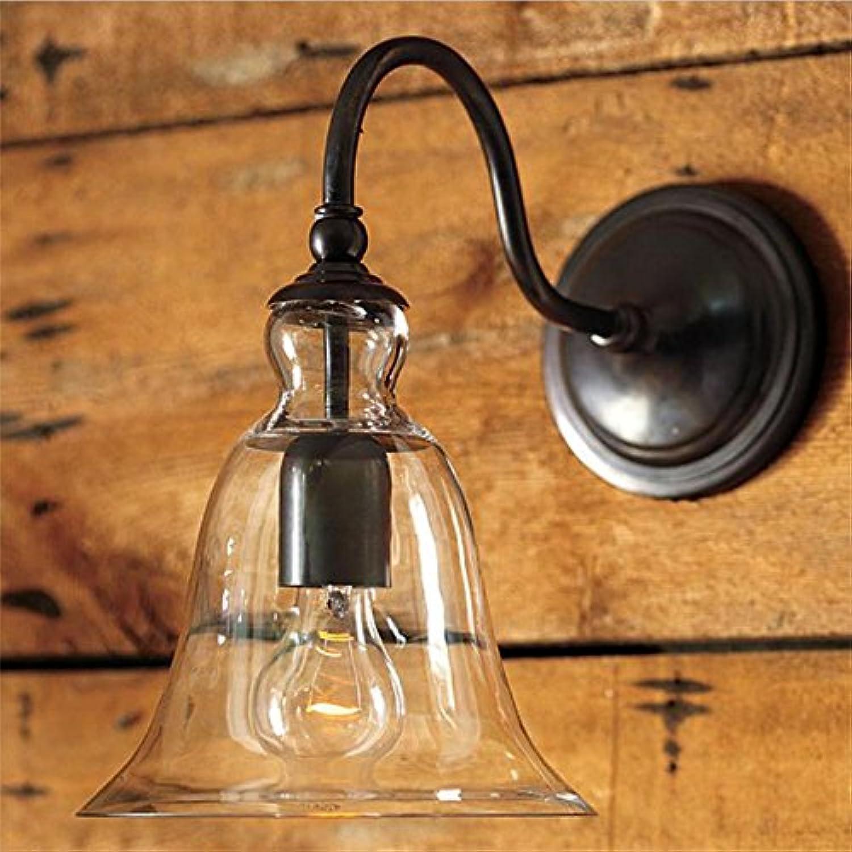 YL-Light American Lndlich Cafe Retro Glas Wandleuchten Restaurant Beleuchtung   E27   220 (V), Keine Lichtquelle 40w
