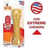 Nylabone Dura Chew Textured Toy, X-Large - Peanut Butter Flavored Bone...