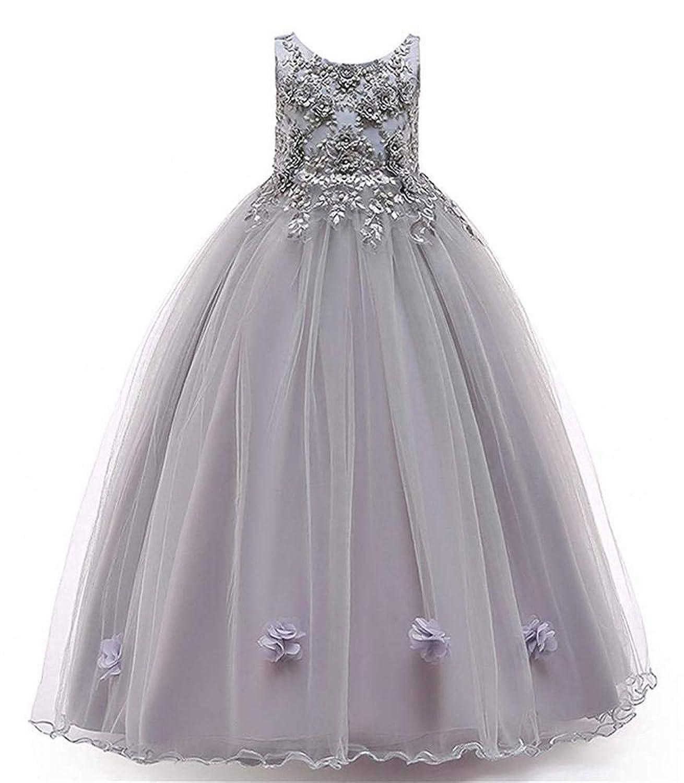 子供ドレスキッズ フォーマル 結婚式 発表会 女の子用 子供服 ワンピース ロング プリンセスドレス120 130 140 150 160