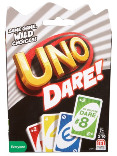 Mattel Games CDY11 UNO: Dare - Card Game (Best Xmas Games 2019)