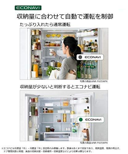 パナソニック冷蔵庫3ドア365LスノーホワイトNR-C370GC-W