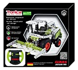 Tronico Toys 09511 Metal Construction Kit – Remote Controlled Maize Chopper Claas Jaguar 980, 1: 64 Scale, Silver