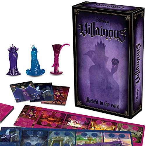 Wicked To The Core Board Game | Disney Villainous Game
