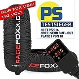 Reifenwärmer Tire Warmers RACEFOXX PRO DIGITAL bis 99° neue Generation - SUPERBIKE, US Ausführung 110 VOLT für Motorradreifen, Rennsport, Reifen