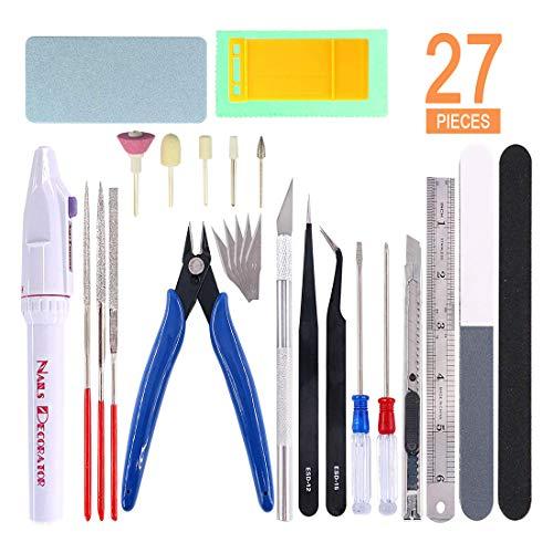 Gundam Modeler Basic Tools Set Gundam Model Tool Kit Gunpla Tools Kit...