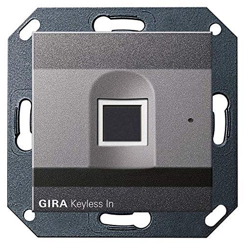 Gira Fingerprint-Leseeinheit 261728 Keyless Anth System 55 Bussystem-Zutrittskontrolleinrichtung 4010337035589