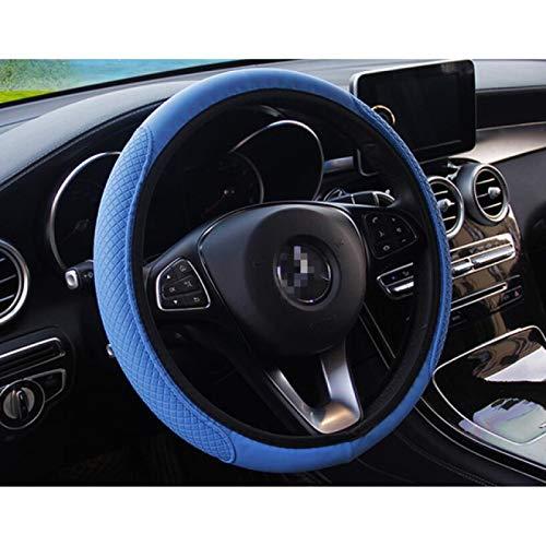 YXSMFX Auto Car Lenkradabdeckung.Für Ford Focus MK2 MK3 MK4 kuga Escape Fiesta Ecosport Mondeo Fusion Transit B...