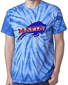TIE-DYE Blue Buffalo Mafia T-Shirt Adult