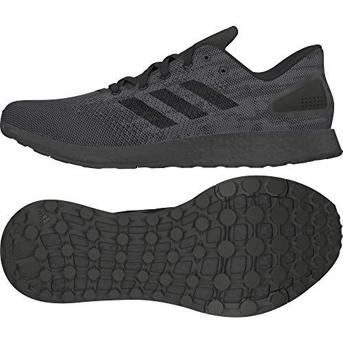 adidas Pureboost DPR Ltd, Scarpe da Trail Running Uomo, Nero (Negbas/Negbas/Carbon 000), 44 2/3 EU