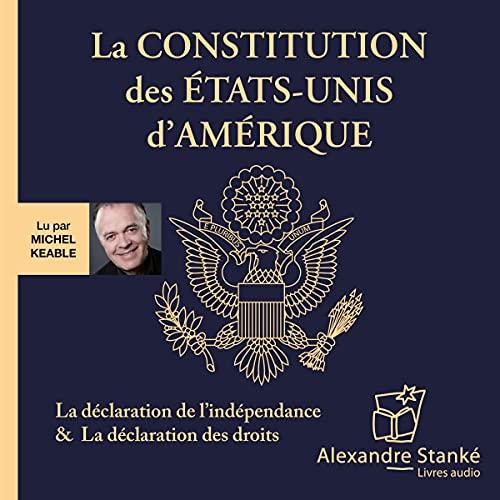 Page de couverture de La constitution des États-Unis d'Amérique