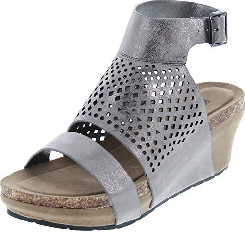 Pierre Dumas Chantal-3 Sandals,Pewter,7