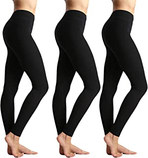 Womens High Waisted Leggings-Super Soft Slim...