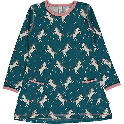 maxomorra Mädchen Tunika Kleid Unicorn Dreams (86/92)