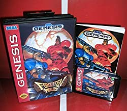 MD games card - Forgotten Worlds US Cover with Box and Manual For Sega Megadrive Genesis Video Game Console 16 bit MD card - Sega Genniess - Sega Ninento, 16 bit MD Game Card For Sega Mega Drive