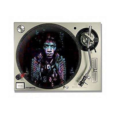 "Jimi Hendrix DJ Turntable Slipmats/slipmat/slip mats 12"" or 7"" (12"")"