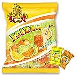 Caramelle Frizzanti Ripiene Arancia e Limone Finazzi kg 1 - Caramelle Ripiene al gusto Arancia e Limone Frizzanti - Busta 1000gr Made in Italy