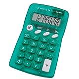 Olympia Taschenrechner LCD 825; grün