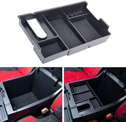 JDMCAR Center Console Organizer Compatible with Tundra Accessories 2014 2020 2021 Armrest Box product image