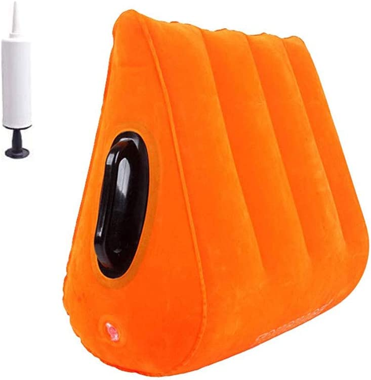 Milwaukee Mall RGDFGDFG s-ē-x Furniture Pillow Sê-x Wedge Triangle Yellow Direct stock discount Toy