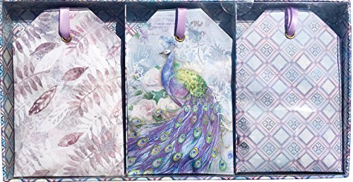 Punch Studio Caddy Fresh Flowers Scented Fragrance Sachets, Fresco Peacock 65056, 6 ct