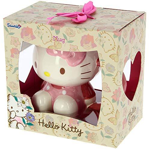 Gama de regalo de cerámica Hello Kitty (marco de fotos, figura, taza y tetera) (taza 3D)
