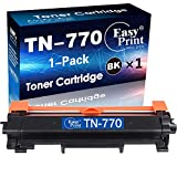 (1-Pack) Compatible TN-770 Toner Cartridge TN770 for use in Brother HL-L2370DW HL-L2370DW XL MFC-L2750DW MFC-L2750DW XL Printer, Sold by Easy Print