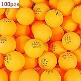 20/50/100 Piezas Bolas de Ping-Pong de plástico ABS avanzadas Pelotas de Tenis de Mesa de Entrenamiento de 3 Estrellas 40 + mm para práctica y Entrenamiento