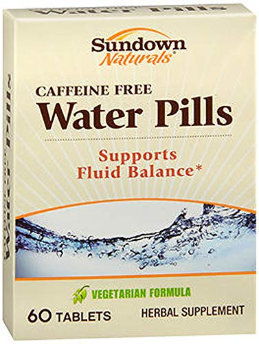 Sundown Naturals Natural Water Pills 60 Tablets (Pack of 2)
