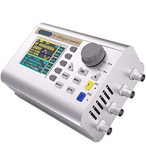 Signalgenerator, JDS2900 60-MHz-DDS-Signalgenerator Zähler Digitale Signalquelle Digitale Steuerung Sinusfrequenz Zweikanal für elektronische Enthusiasten, Frequenz Meter 266MSa/s