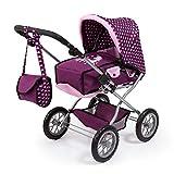 Bayer Design 15037AA Kombi Puppenwagen Combi Grande, zusammenklappbar, höhenverstellbar, mit...