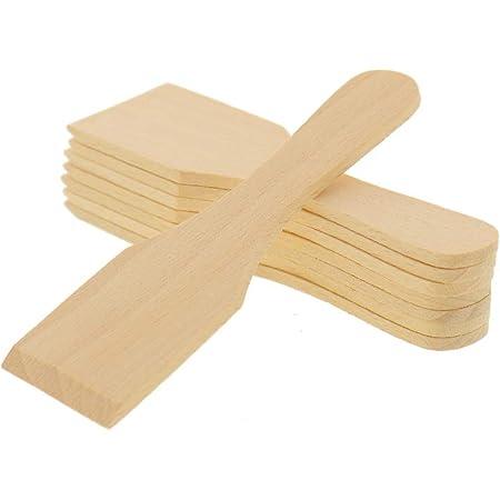Hofmeister Holzwaren Lot de 8 Petites spatules à raclette