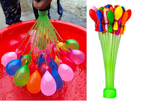 Zippy Water Balloons! (444 Total Count!) Self Tying (Sealing), Biodegradable, Eco Friendly and Recyclable waterballoon!! Party baloon or bubble ballons it dosen