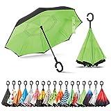 Sharpty Inverted Umbrella, Umbrella Windproof, Reverse Umbrella, Umbrellas for Women, Upside Down Umbrella...