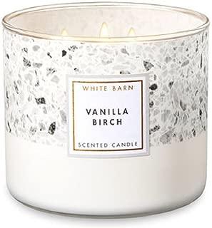 Bath & Body Works White Barn 3-Wick Scented Candle in Vanilla Birch
