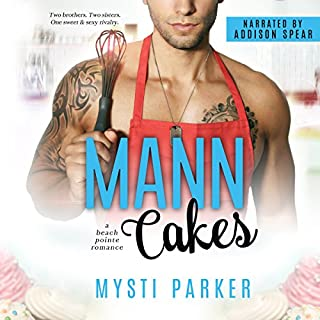 Mann Cakes     A Beach Pointe Romance              By:                                                                                                                                 Mysti Parker                               Narrated by:                                                                                                                                 Addison Spear                      Length: 5 hrs and 18 mins     Not rated yet     Overall 0.0