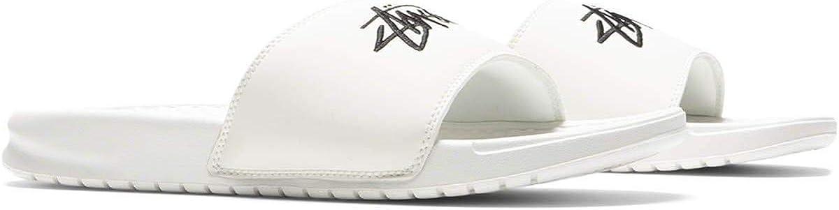 Nike Stussy x Benassi Slide White Black Sail